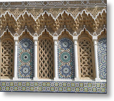 Metal Print featuring the photograph Moroccan Tile by Erik Falkensteen