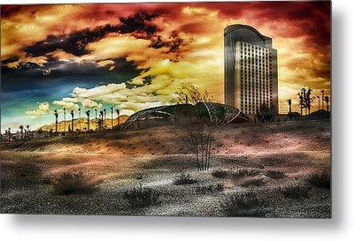 Morongo Casino Sunset Metal Print