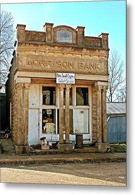 Morrison Bank Metal Print