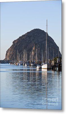 Morro Bay Sailboats Metal Print by Bill Brennan - Printscapes