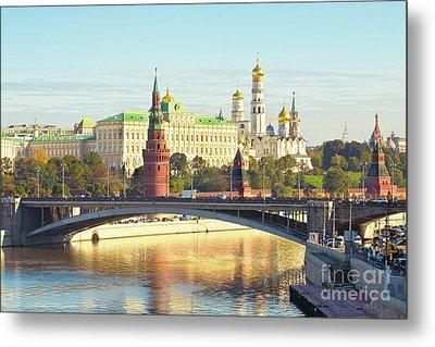 Moscow, Kremlin Metal Print