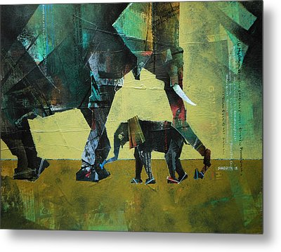 Mother And Child 2 Metal Print