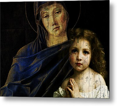 Metal Print featuring the mixed media Mother And Child Reunion  by Paul Lovering