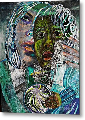 Mother And Child Metal Print by Sarah Loft