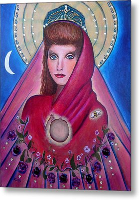 Mother And Child Metal Print by Shirley Cunningham