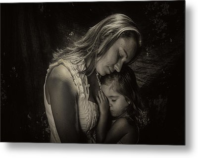 Mother Daughter Metal Print by Kevin Cable
