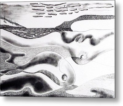Mother Earth Metal Print by Douglas Pike