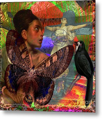 Mother Earth Persecution Metal Print