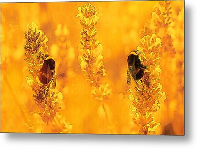 Metal Print featuring the digital art Mother Nature At Work    by Fine Art By Andrew David