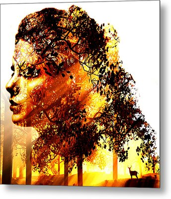 Mother Nature Metal Print by Marian Voicu
