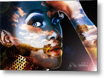 Mother Of All Creation Metal Print by Kia Kelliebrew