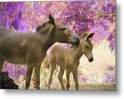 Motherly Love Metal Print by Judy Kay