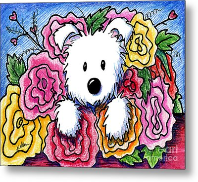 Mothers Day Bouquet Metal Print by Kim Niles