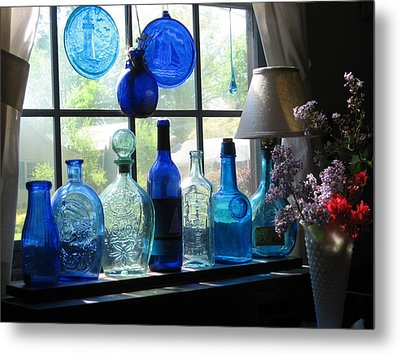 Mother's Day Window Metal Print by John Scates