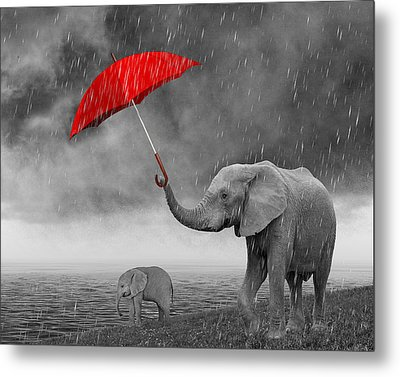 Mother's Love And Care Metal Print