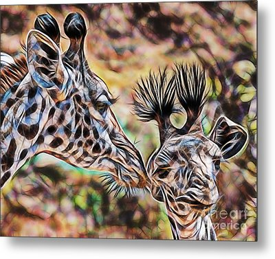 Mothers Love Metal Print by Marvin Blaine