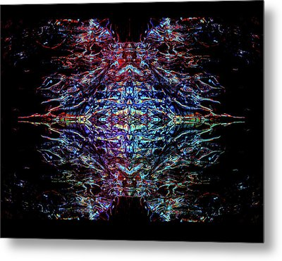 Mothership The Second Metal Print