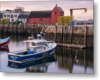 Motif No 1 Evening Metal Print
