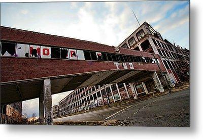 Motor City Industrial Park The Detroit Packard Plant Metal Print by Gordon Dean II