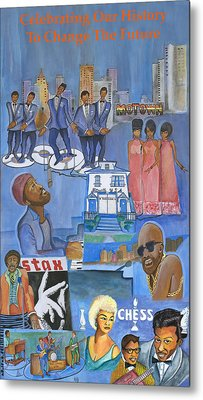 Motown Commemorative 50th Anniversary Metal Print