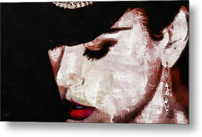 Moulin Rouge - Nicole Kidman Metal Print by Sir Josef - Social Critic -  Maha Art