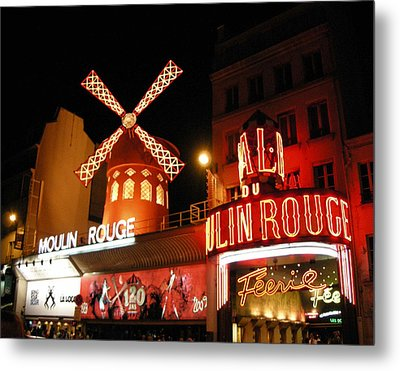 Moulin Rouge Paris Metal Print