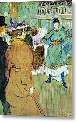 Moulin Rouge Metal Print by Toulouse Lautrec