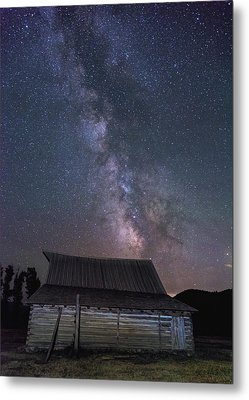 Moulton And The Milky Way Metal Print by Morris McClung