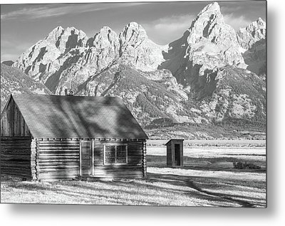 Metal Print featuring the photograph Moulton Homestead - Bunkhouse by Colleen Coccia