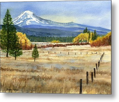 Mount Adams  Metal Print by Sharon Freeman
