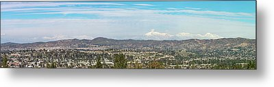 Mount Baldy And Mountain High Metal Print by Angela A Stanton