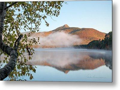 Mount Chocorua In Fog 0398 Metal Print
