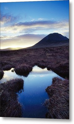 Mount Errigal, County Donegal, Ireland Metal Print by Gareth McCormack