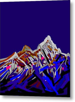 Mount Everest Metal Print