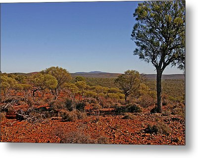 Mount Gibson Station Wa Metal Print