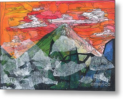 Mount Improbable Metal Print by Jessica Browne-White