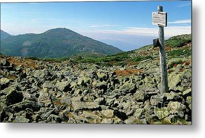 Mount Jefferson - White Mountains New Hampshire  Metal Print