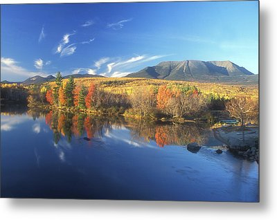 Mount Katahdin From Abol Bridge Metal Print
