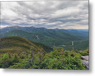 Mount Lafayette And Franconia Notch Parkway Metal Print
