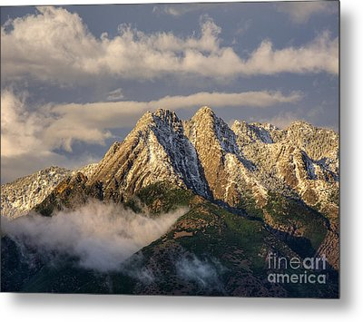 Metal Print featuring the photograph Mount Olympus by Spencer Baugh