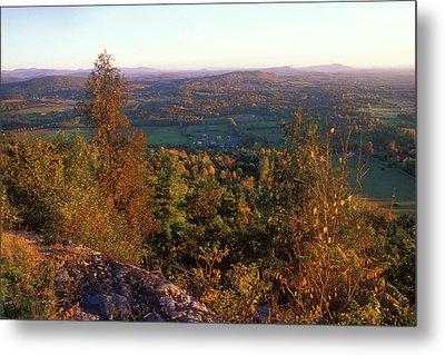 Mount Philo Foliage View Metal Print by John Burk
