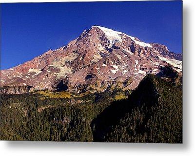Mount Rainier  Metal Print by Marty Koch