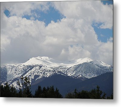 Mount Rose Reno Nevada Metal Print by Dan Whittemore
