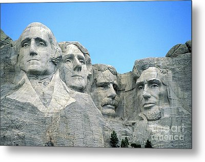 Mount Rushmore Metal Print by American School
