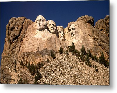 Mount Rushmore National Monument Metal Print by Art America Gallery Peter Potter