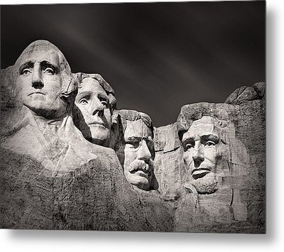Mount Rushmore South Dakota Usa Metal Print