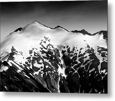 Metal Print featuring the photograph Mount Ruth In The Washington Cascade Mountains by Brendan Reals