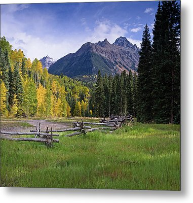 Mount Sneffels In Autumnn Metal Print by Greg Nyquist