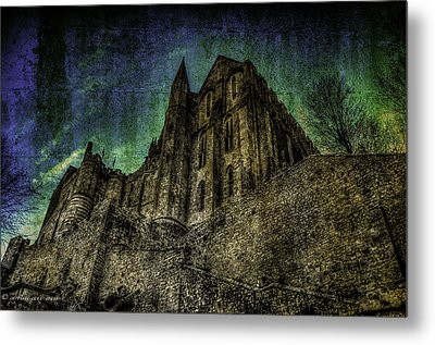 Mount St Michael Unreal Metal Print