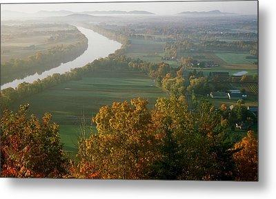 Mount Sugarloaf Autumn Morning Metal Print by John Burk